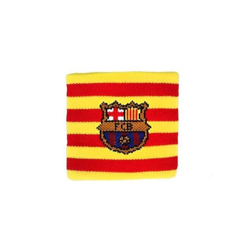 800f801c0839e Muñequeras F.C. Barcelona bicolor senyera  AB3919