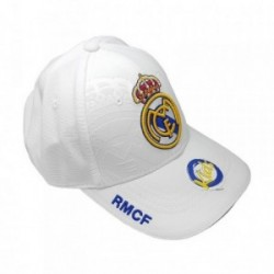 Gorra Real Madrid junior blanco primer equipo