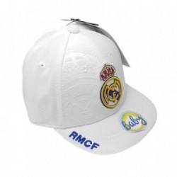Gorra Real Madrid bebé blanco primer equipo [AB3930]
