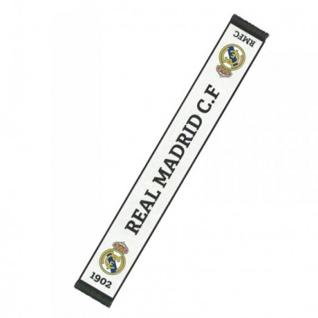 Bufanda Real Madrid tela blanca [AB3931]