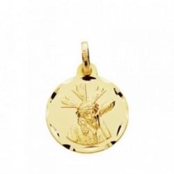 Medalla oro 9k Gran Poder 16mm. [AB3671GR]