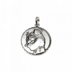 Colgante plata ley 925m 28mm. medalla San Antonio [AA8199GR]