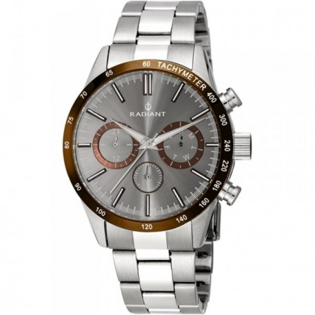 Reloj Radiant New Empire Steel RA411203 hombre analógico acero inoxidable