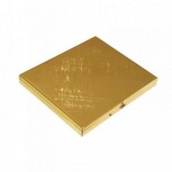 Pitillera rígida metálica dorada [4572]