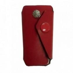 Llavero piel roja forma [5342]