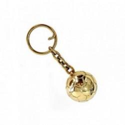 Llavero metálico balón dorado [AB4206]