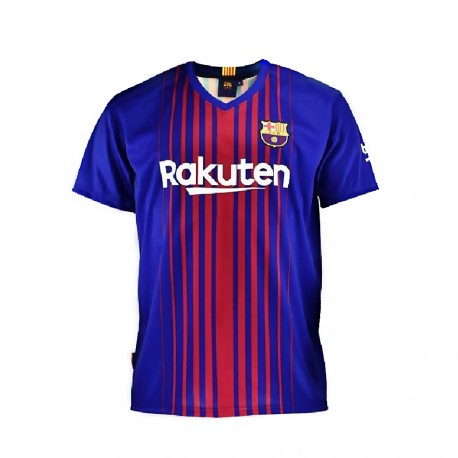 Camiseta oficial F.C. Barcelona junior 2017-18 [AB4222]