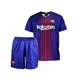 Uniforme oficial F.C. Barcelona junior 2017-18 [AB4225]