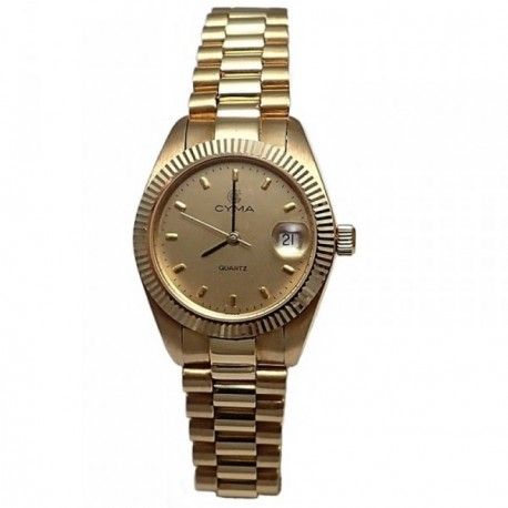 Reloj oro 18k Cyma mujer [AB4256]