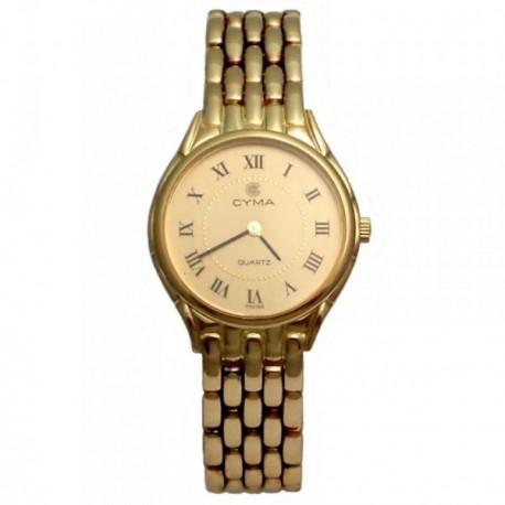 Reloj oro 18k Cyma modelo panter mujer [AB4257]
