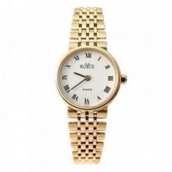 Reloj oro 18k Royce mujer panter liso brillo mate [AB4266]