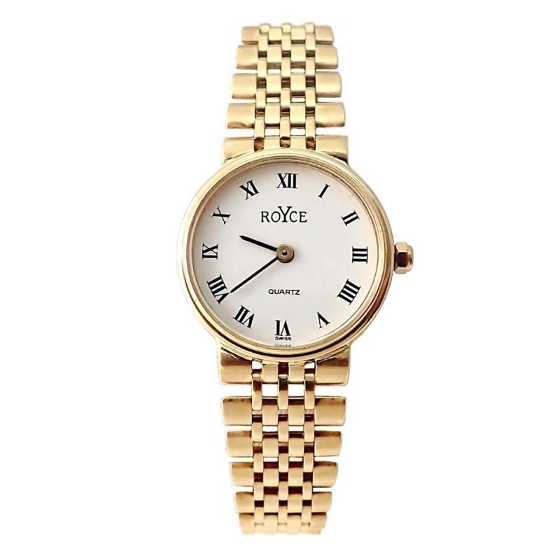 f2e26e50b0c6 Reloj oro 18k Royce mujer panter liso brillo mate  AB4266
