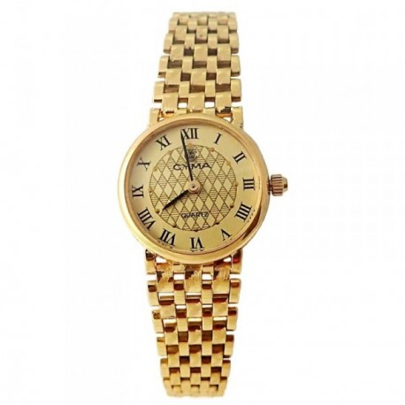 Reloj oro 18k Cyma mujer panter liso brillo mate [AB4268]