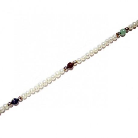 Pulsera perla natural [63]