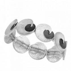 Pulsera ANTONELLI CRUISE bronce extensible detalles ovales [AB4573]