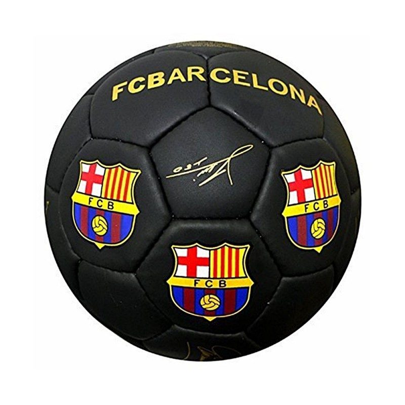Balón grande F.C. Barcelona firmado negro  AB4873  934e6c200d8