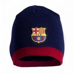 Gorro F.C. Barcelona adulto escudo marino granate [AB4876]