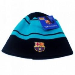 Gorro F.C. Barcelona adulto escudo marino turquesa [AB4877]