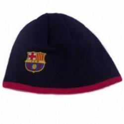 Gorro F.C. Barcelona adulto reversible escudo marino rosa [AB4878]
