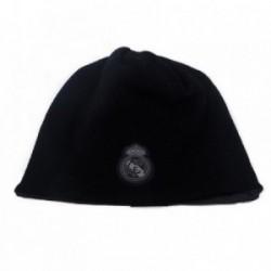Gorro Real Madrid adulto escudo negro gris [AB4881]