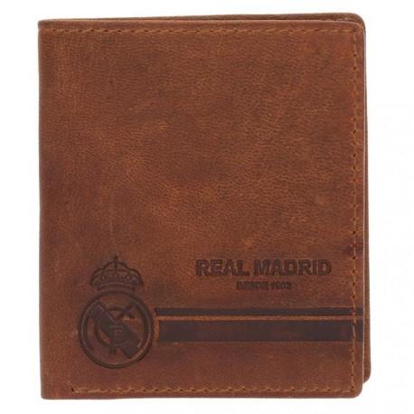 Cartera Real Madrid billetera outside marrón [AB4228]