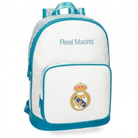 Mochila Real Madrid adaptable portaordenador 42 cm. leyenda