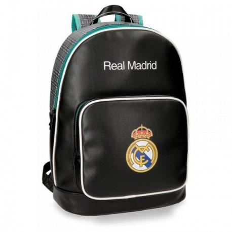 Mochila Real Madrid adaptable portaordenador 42 cm. leyenda [AB4244]
