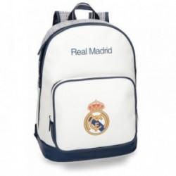 Mochila Real Madrid adaptable portaordenador 42 cm. leyenda [AB4245]