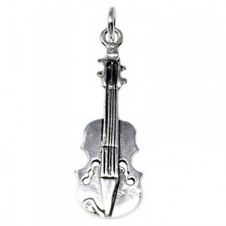 Colgante plata Ley 925m motivo violonchelo 29.2mm. unisex