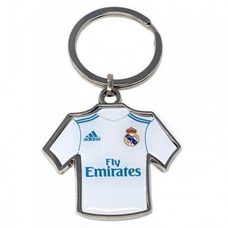 Llavero metálico camiseta escudo Real Madrid C.F. [AB4923]