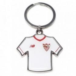 Llavero metálico camiseta escudo Sevilla F.C. [AB4924]