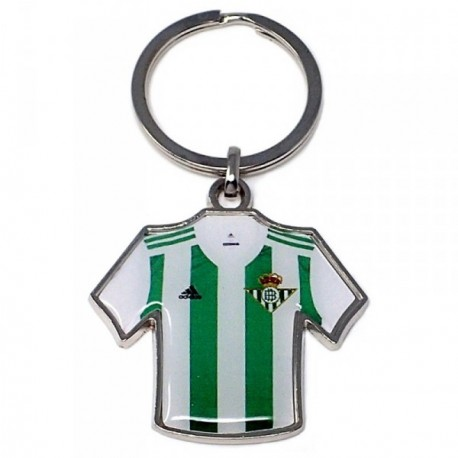 Llavero metálico camiseta escudo Real Betis [AB4925]