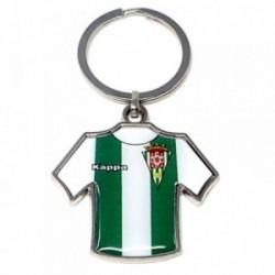 Llavero metálico camiseta escudo Córdoba C.F. [AB4926GR]