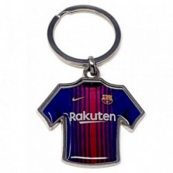 Llavero metálico camiseta escudo F.C. Barcelona [AB4927]