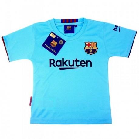 Camiseta F.C. Barcelona réplica oficial junior segunda equipación