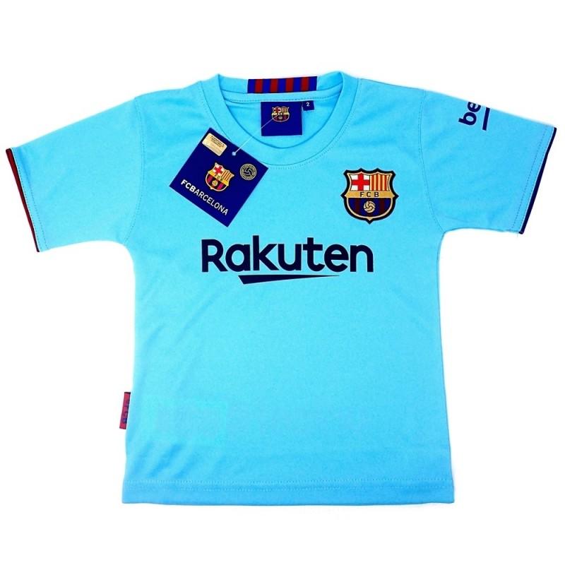 021d15e2e613b Camiseta F.C. Barcelona réplica oficial junior segunda equipación  AB4934 .  Loading zoom