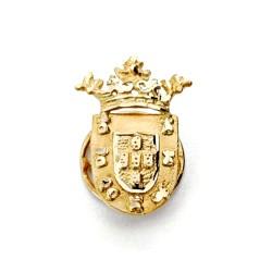 Pin solapa oro 18k escudo Ceuta 19mm.  [AA1998]