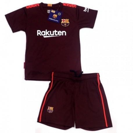 Uniforme F.C. Barcelona réplica oficial junior tercera equipación