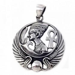 Colgante plata Ley 925m motivos egipcios [AB4963]