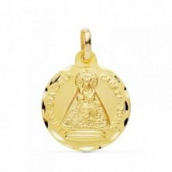 Medalla oro 18k Virgen de la Cabeza Zújar 18mm. [AB4796GR]