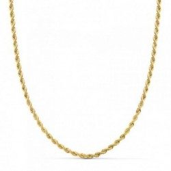 Cadena oro 9k salomónico 45cm. 3mm. [AB4856]