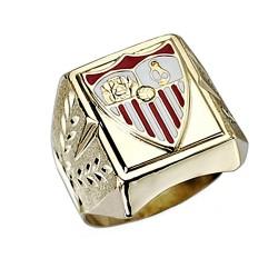 Sello escudo Sevilla FC oro de ley 18k caballero [8540]