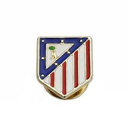 Pin escudo Atlético de Madrid oro de ley 9k esmaltado 16mm. [AA1896]