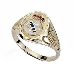 Sello escudo Real Madrid oro de ley 9k Champion pequeño [6497]