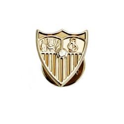 Pin escudo Sevilla FC oro de ley 18k 16mm. [AA0653]