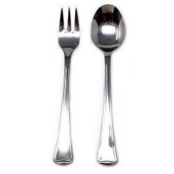 Set 2 cubiertos acero inoxidable 18/10 Cunill infantil tenedor cuchara