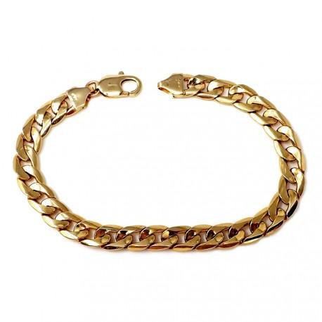 Pulsera cadena oro [58]