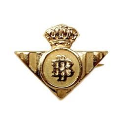 Pin alfiler oro 18k escudo Real Betis Balompié [422]