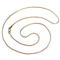 Cadena oro 18k maciza avena 50 cm. 0.9 mm. 3.60 grs. [9549]