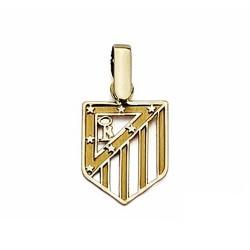 Colgante escudo Atlético de Madrid oro de ley 9k 14mm. calado [7005]